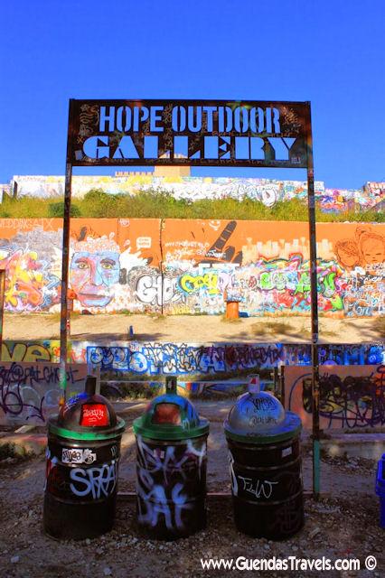 baylor stree art wall austin