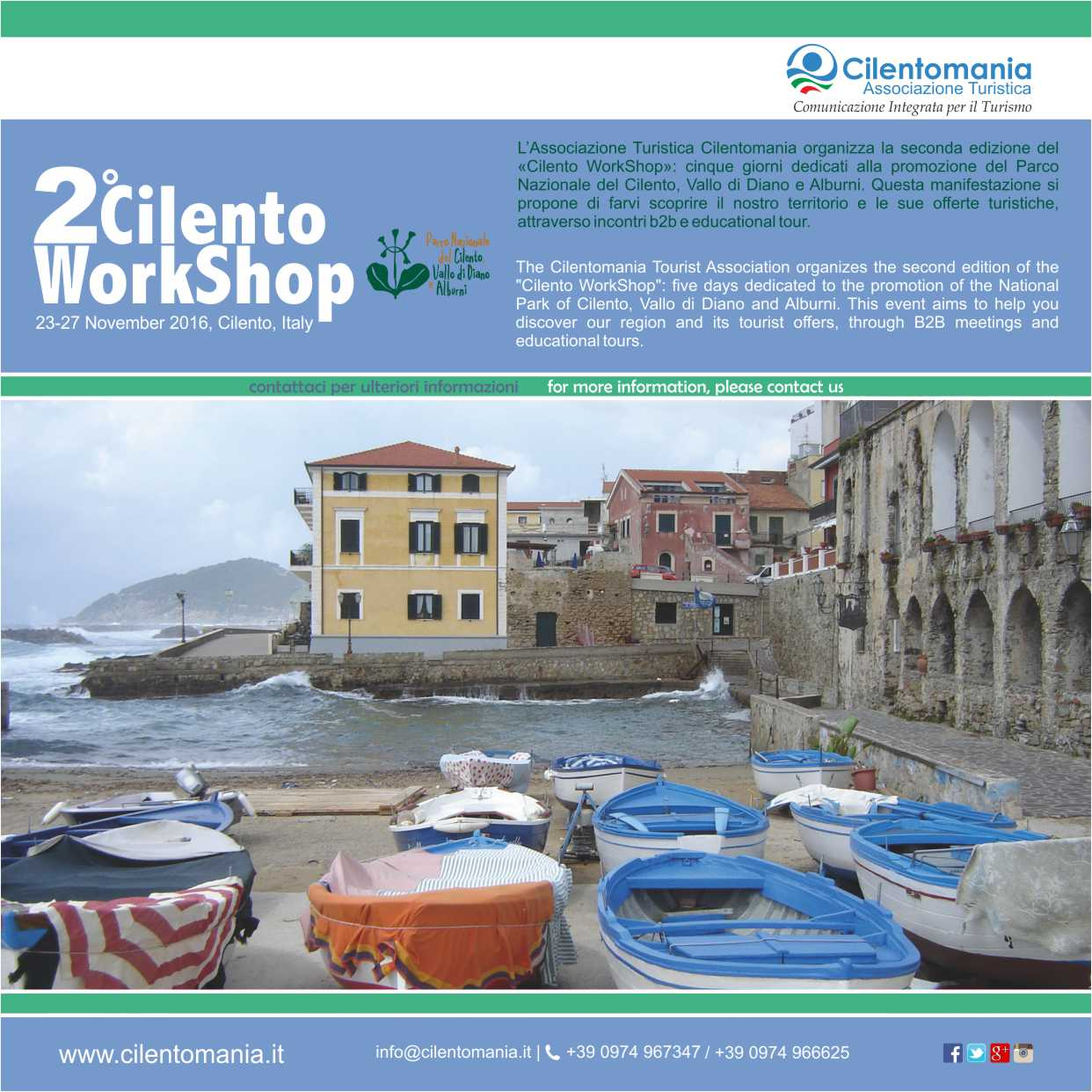 cilento workshop