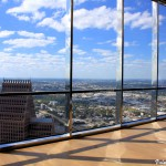 Una vista panoramica gratuita su Houston? Dalla Chase Tower!