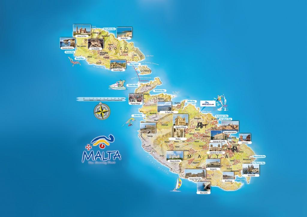 Malta Cartina Turistica.Malta 2015 Informazioni Generali
