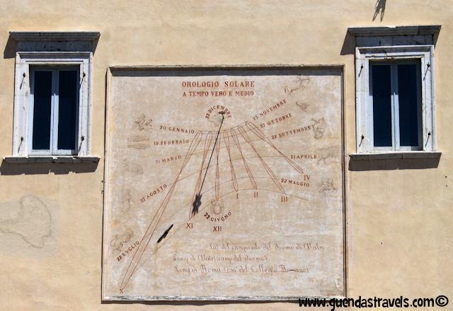 alatri meridiana murale