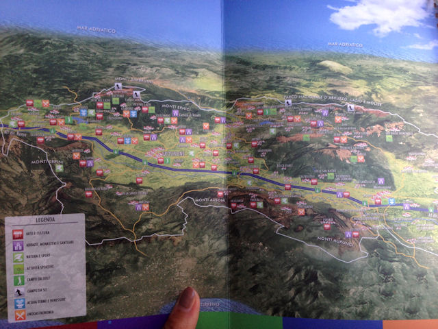 ciociaria mappa