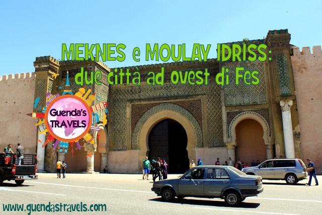 Meknes e Moulayd Idriss due città ad ovest di fes