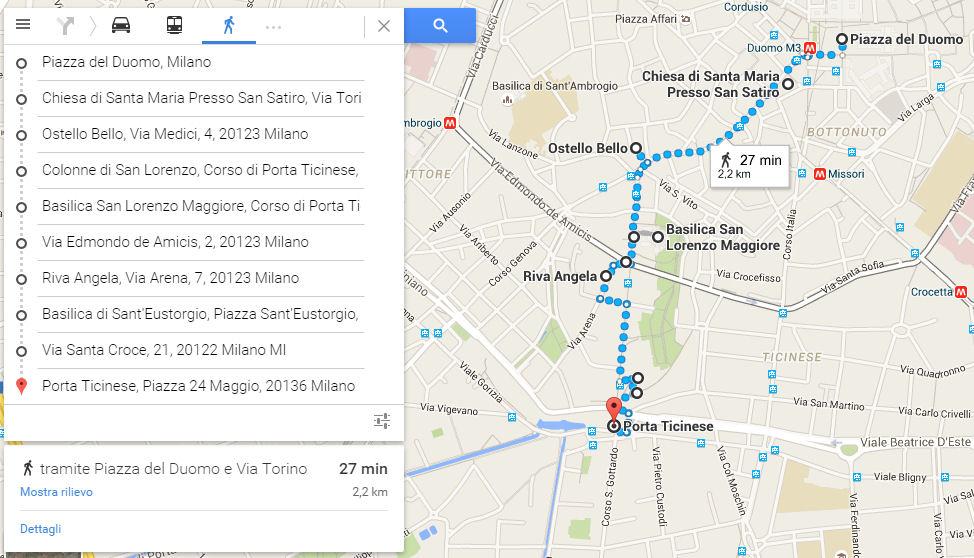 #3hMilan mappa