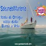 #SolcandoIlMarIonio : L'Isola di Ortigia vista dalla Barca a Vela!