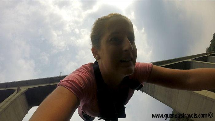 Bungee Jumping Veglio Guenda's Travels 0