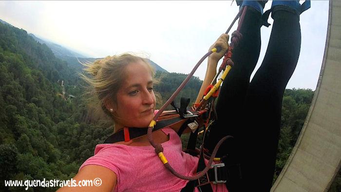 Bungee Jumping Veglio Guenda's Travels 10
