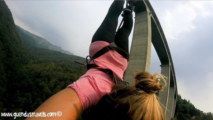 Bungee Jumping Veglio Guenda's Travels 2