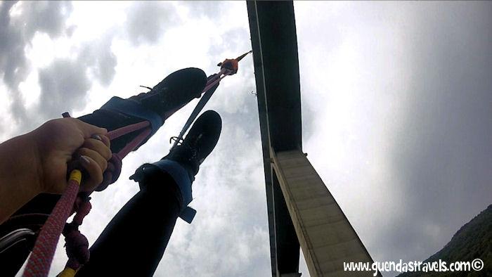 Bungee Jumping Veglio Guenda's Travels 9