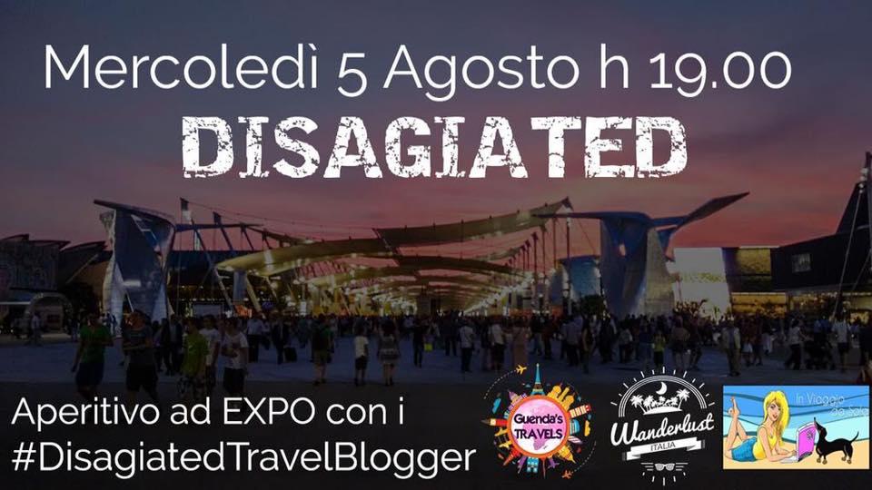 #DisagiatedTravelBlogger in Expo