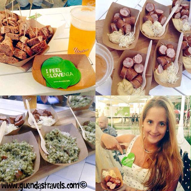 #disagiatedtravelblogger aperitivo padiglione slovenia