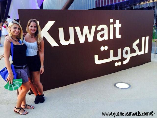 guenda e diana padiglione kuwait