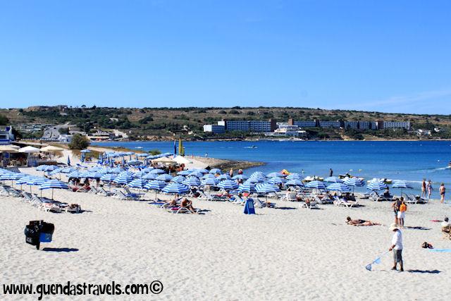 mellieha beach malta