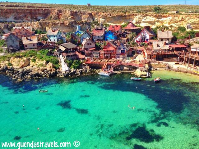 popeye village anchor bay malta