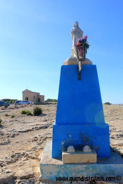 statue of the madonna malta