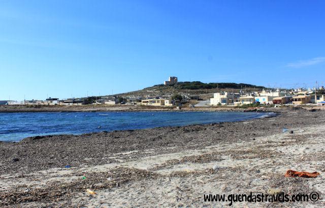 white tower beach malta