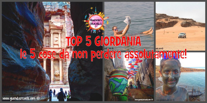 top 5 giordania