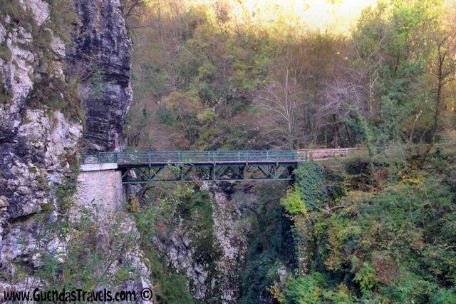 ponte del diavolo tolmin