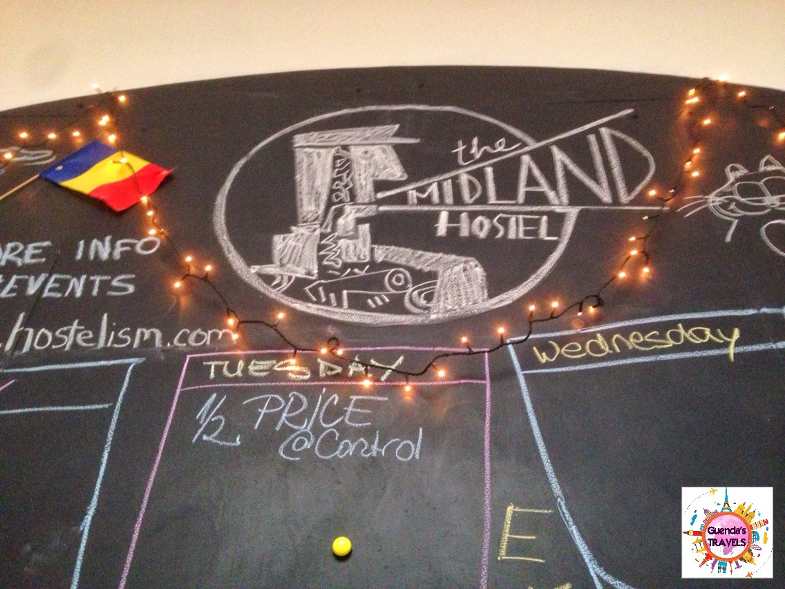 midland hostel board