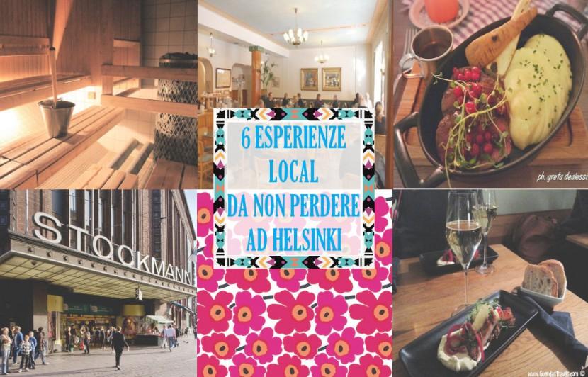 6 esperienze local da non perdere ad helsinki