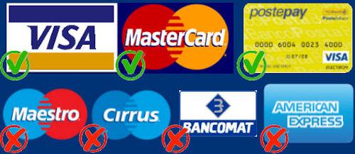 carte di credito accettate a cuba