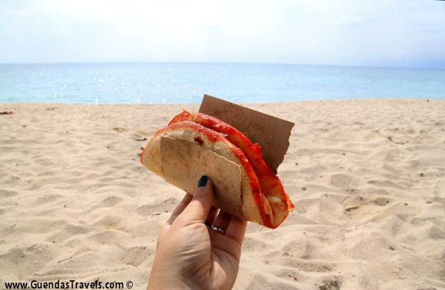 playa ancon pizza y queso