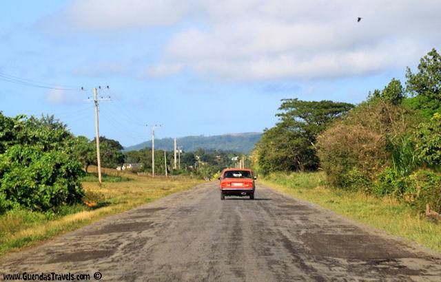 sulla strada per cayo jutias