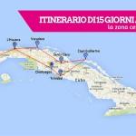 Itinerario di 15 giorni a Cuba: la zona centro-occidentale