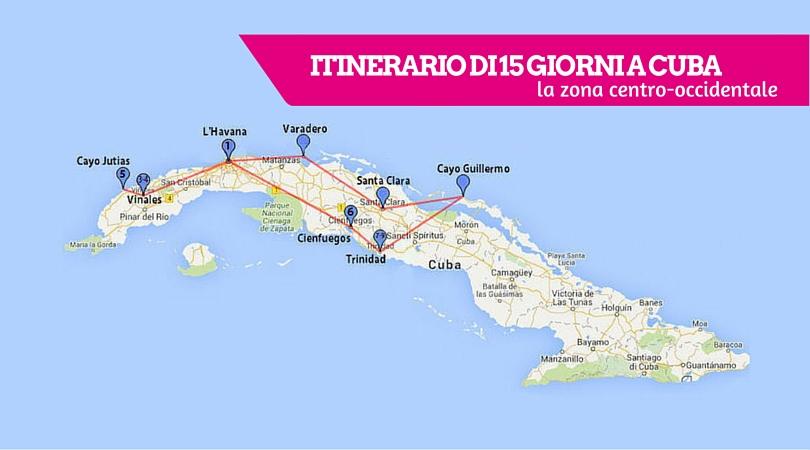 copertina itinerario cuba