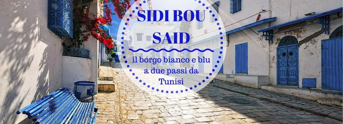 SIDI BOU SAID: il borgo bianco e blu a due passi da Tunisi