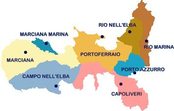 Isola Delba Cartina Italia.5 Motivi Per Visitare L Isola D Elba