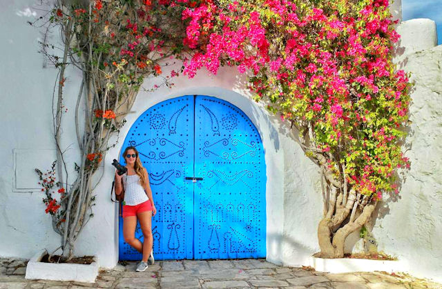 sidi bou said bouganville