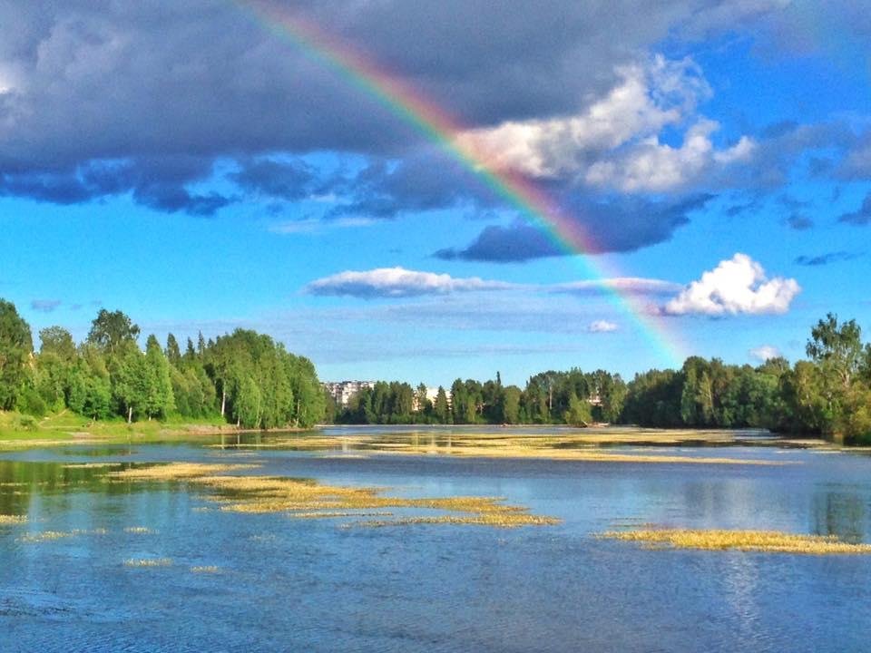 Cosa fare a Skellefteå arcobaleno