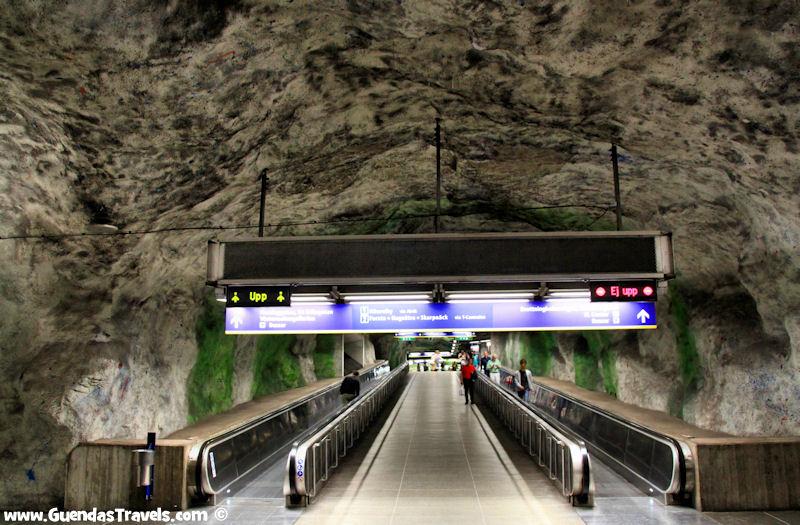 arte nella metropolitana di Stoccolma Friedhelmspla