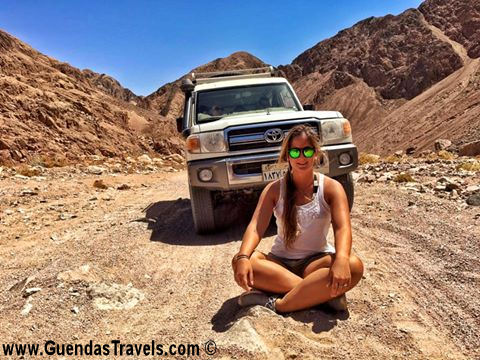 sicurezza in egitto deserto