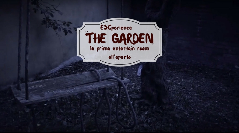entertain room all'aperto THE GARDEN