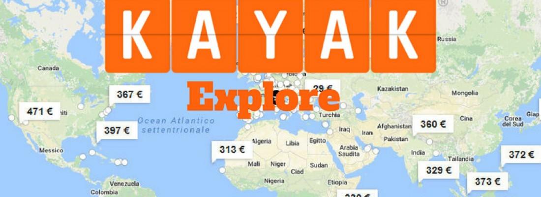 KAYAK Explore: trovare voli non è mai stato così semplice!
