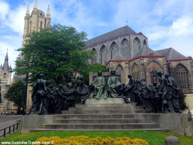 cosa vedere a gent cattedrale san bavone