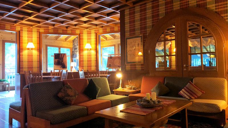 autunno a cogne hotel sant'orso