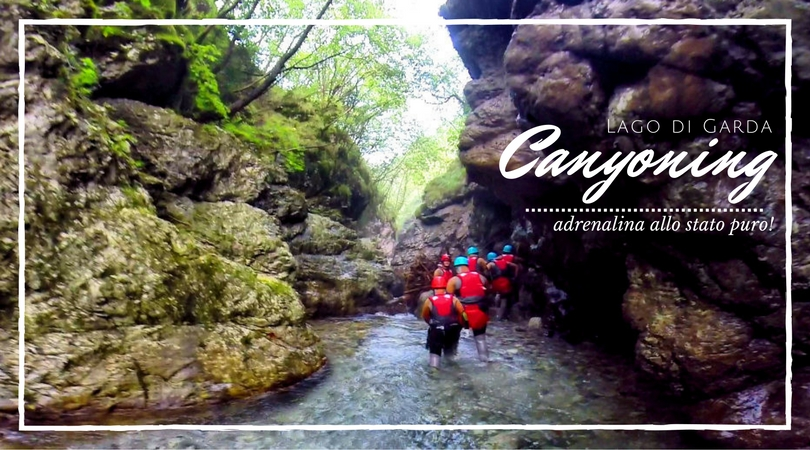 Canyoning Lago di Garda
