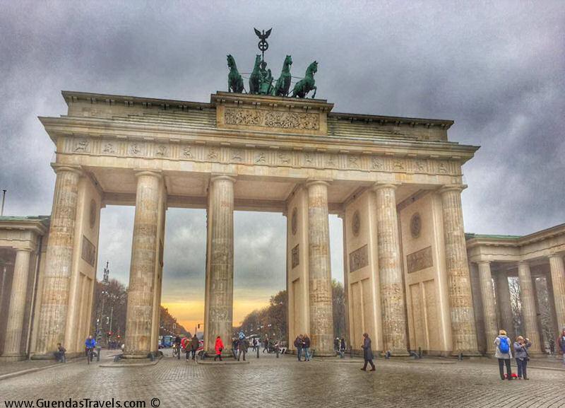 2 giorni a Berlino brandenburger tor