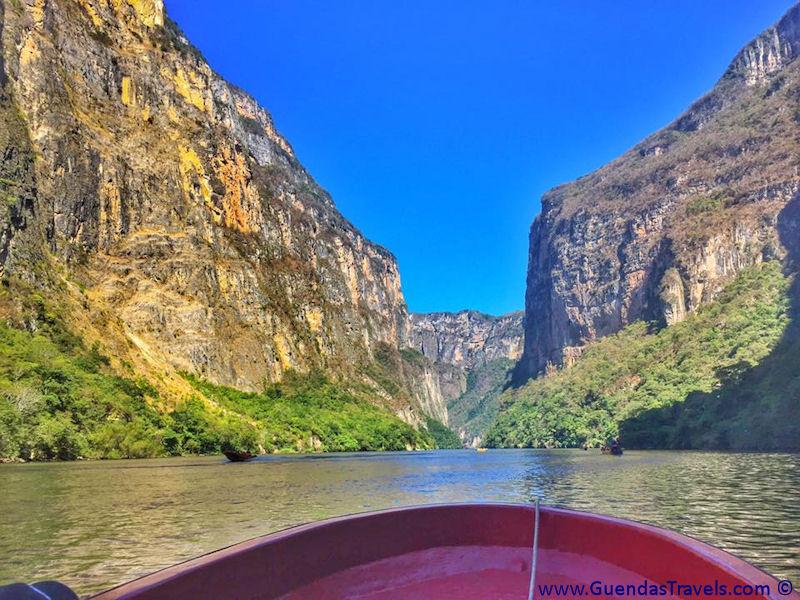 itinerario di 20 giorni in Messico Canyon Sumidero