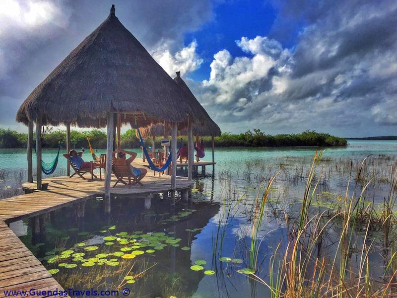 itinerario di 20 giorni in Messico Laguna Bacalar