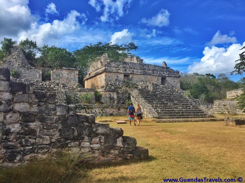 itinerario di 20 giorni in Messico Ek Balam