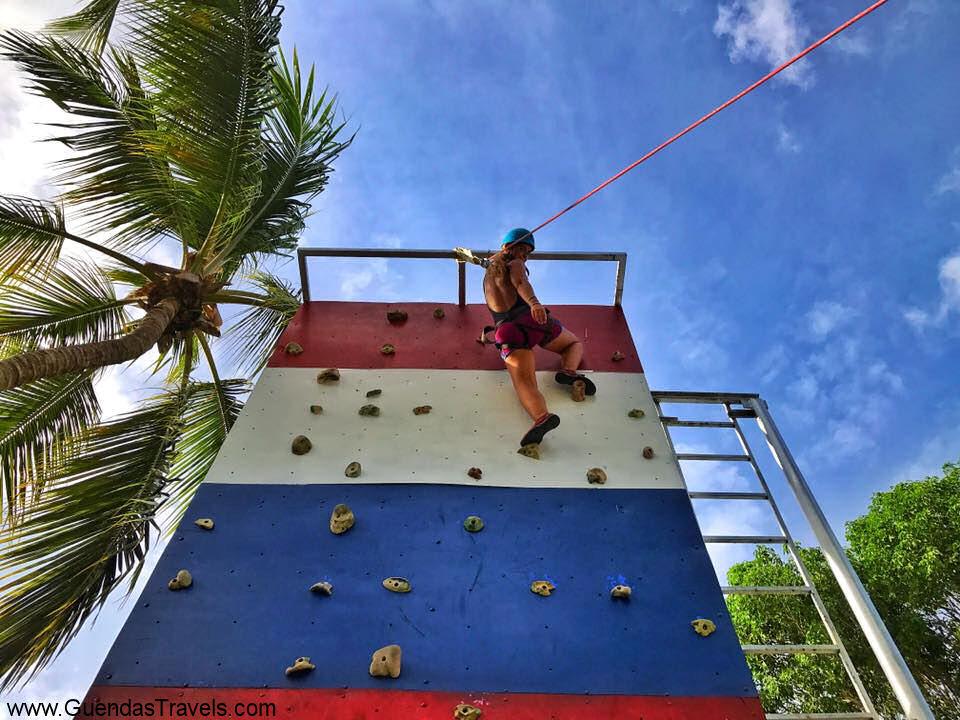 attività al Viva Dominicus climbing