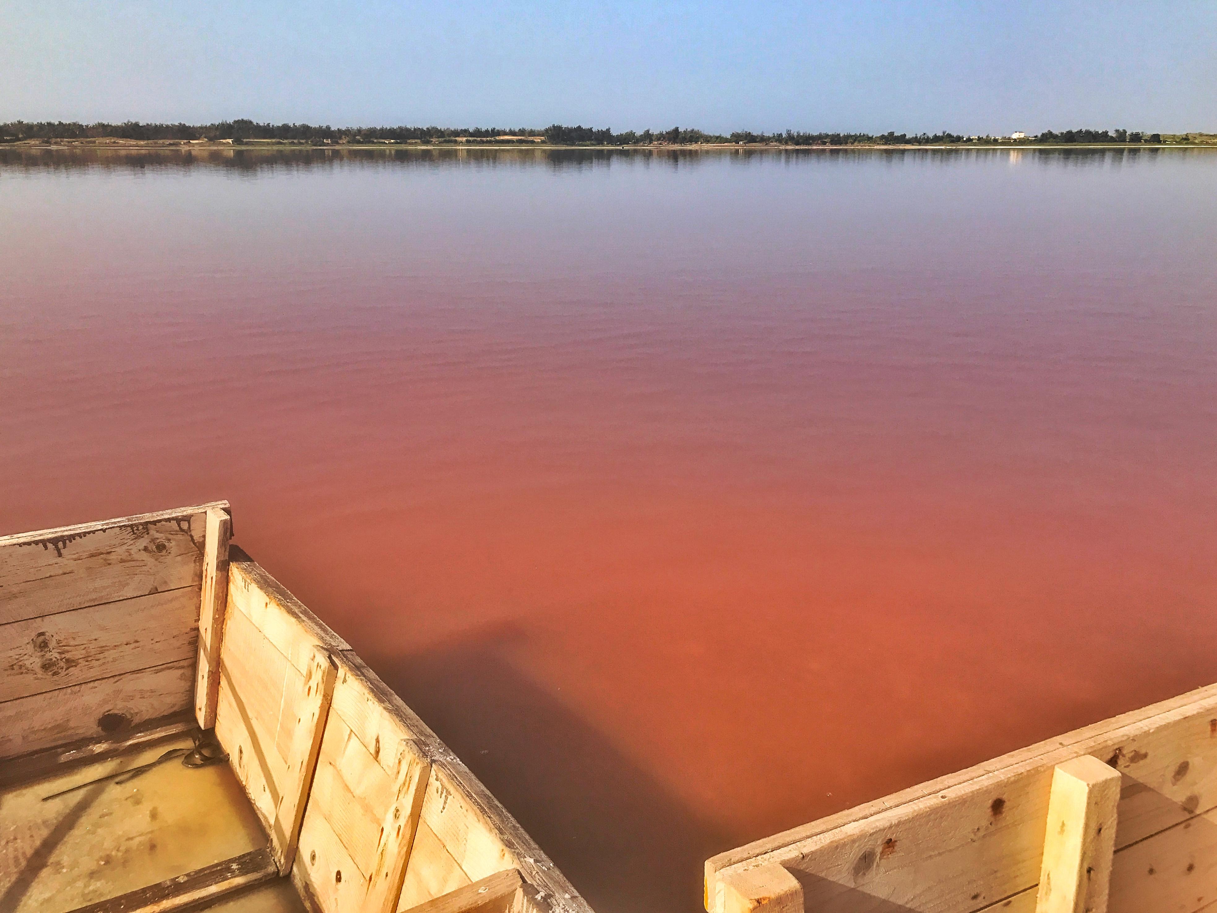 il lago rosa in senegal