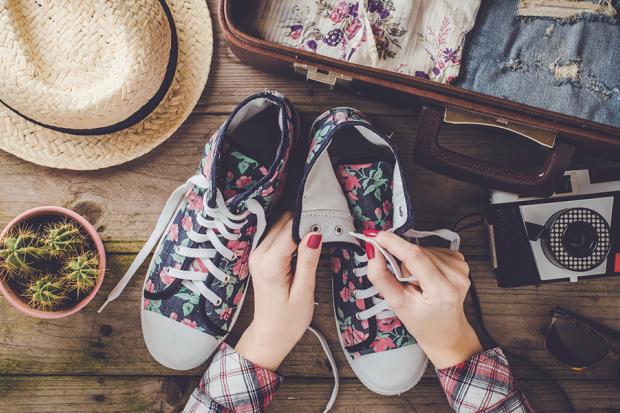 come preparare la valigia scarpe