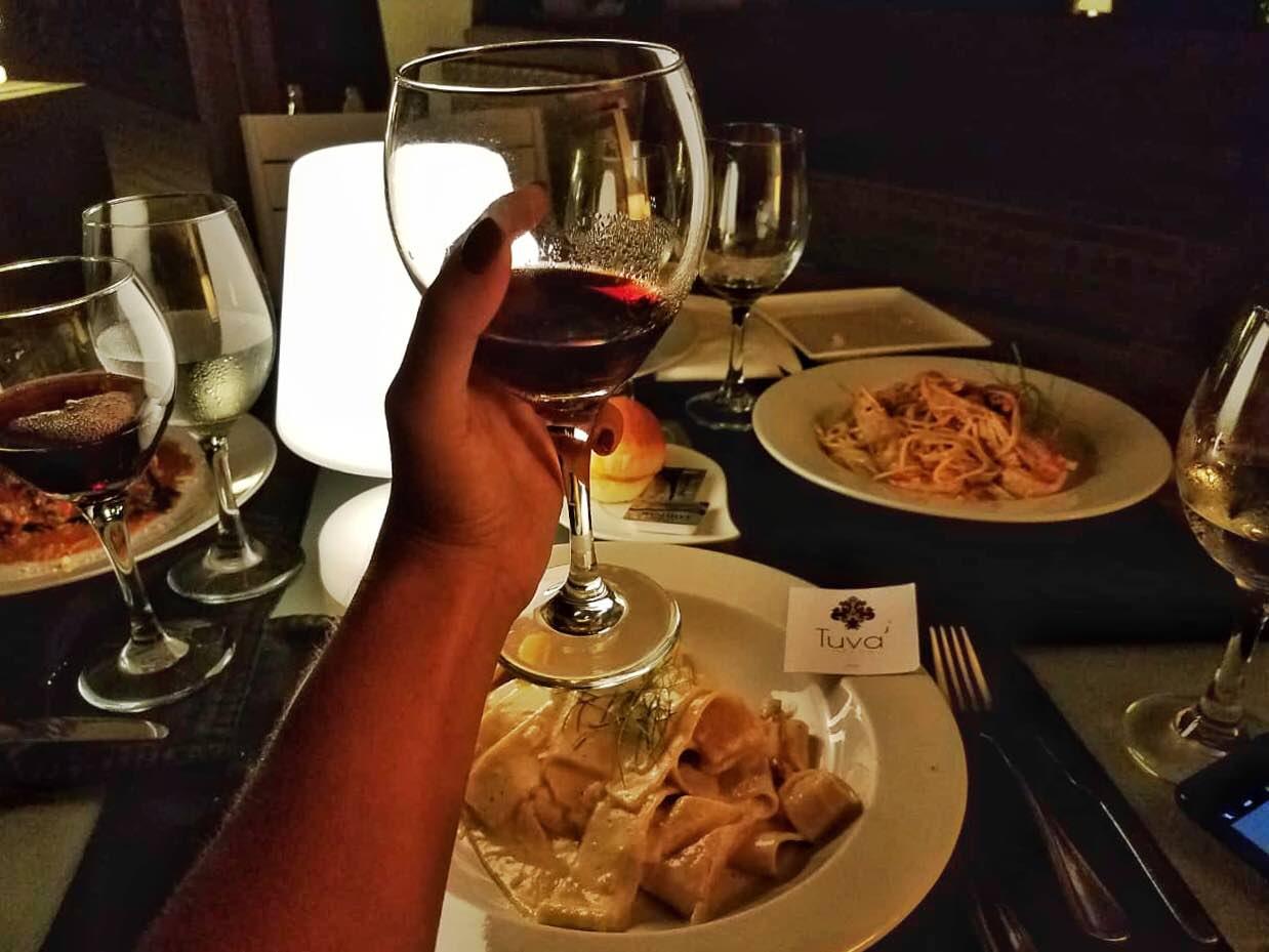 cucina italiana raffinata a cabarete