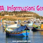 Malta 2015: Informazioni Generali