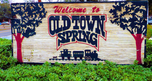 welcome to old town spring